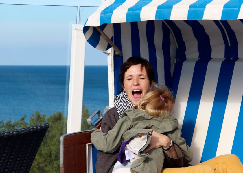 Fotoshooting im Strandkorb: Muschelalarm statt Tourifoto