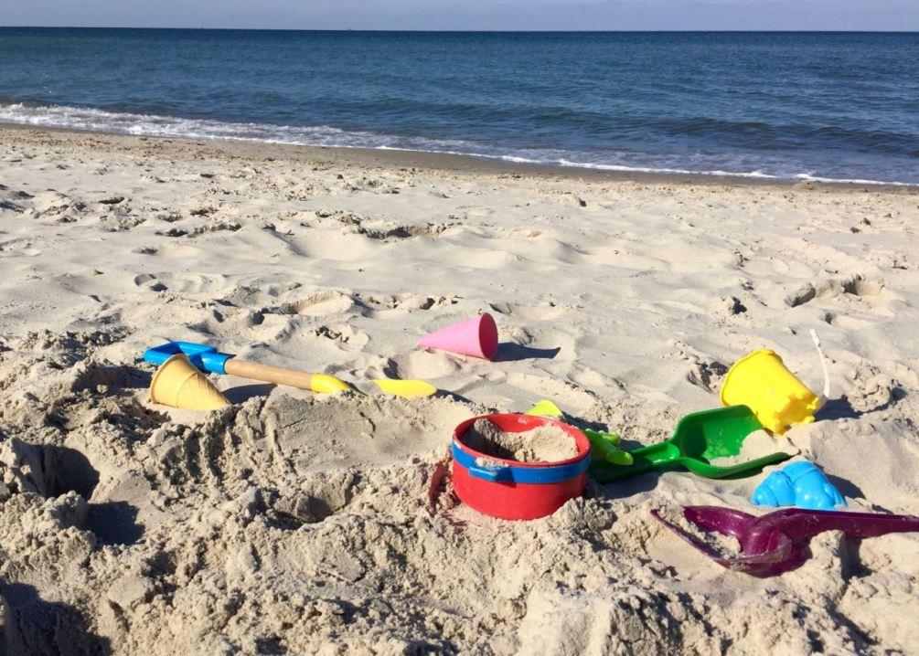 Das kleine Glück an der Ostsee: Sonne, Sand und Wasser