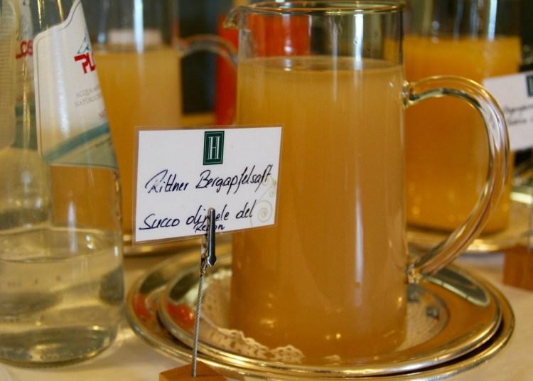 Für den Apfelsaft auf dem Frühstücksbuffet hätte ich jeden Latte Macchiato eingetauscht