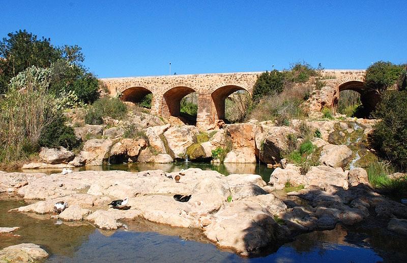 Ibiza: Der einzige Fluss der Insel, der Río de Santa Eulària
