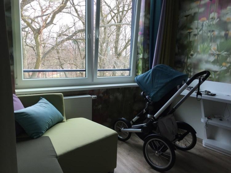 Ein Doppelzimmer im a-ja Bad Saarow. Das Resort.