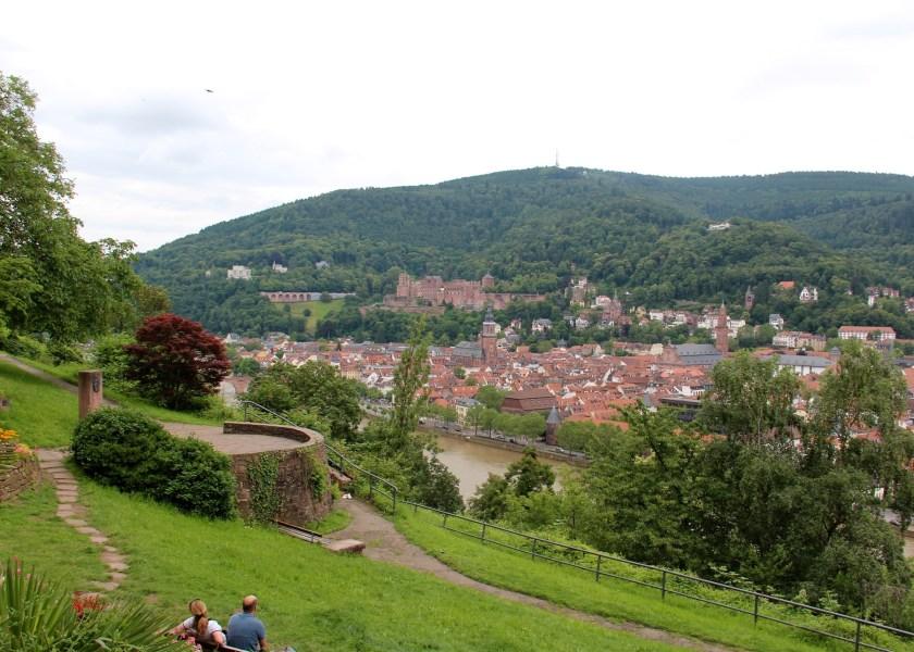 Manche Reiseführer beschrieben das Philosophengärtchen als ein Stück Toskana in Heidelberg.