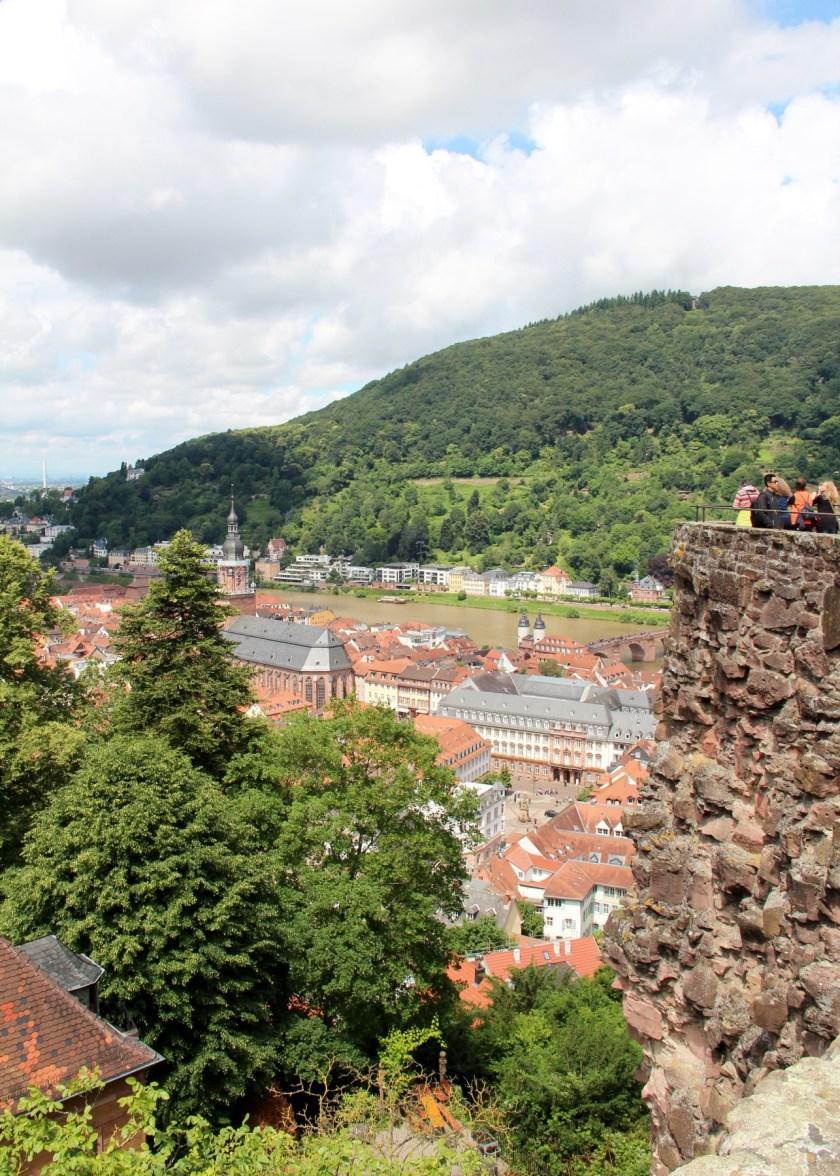 Ein wunderbarer Blick über die Heidelberger Altstadt