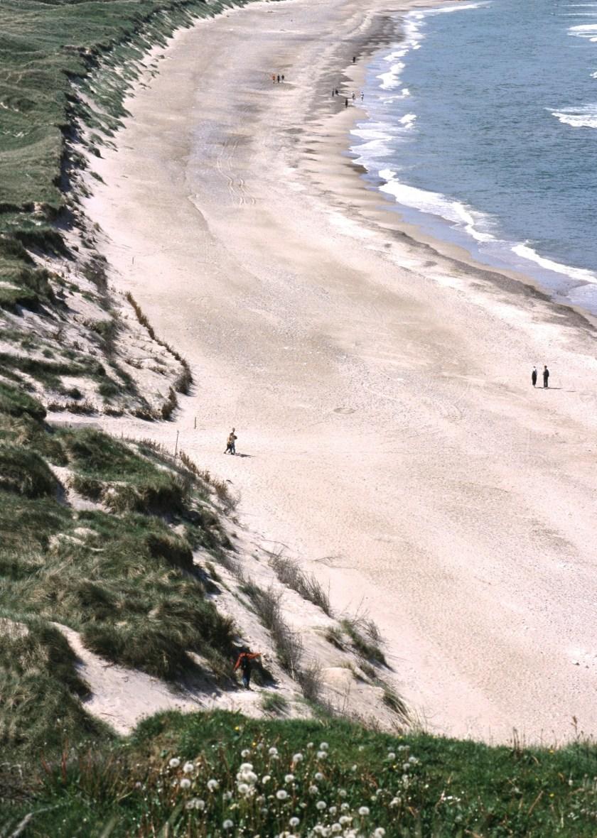Nordseeküste Dänemark: Strand in der Jammerbucht (dänisch: Jammerbudgen)