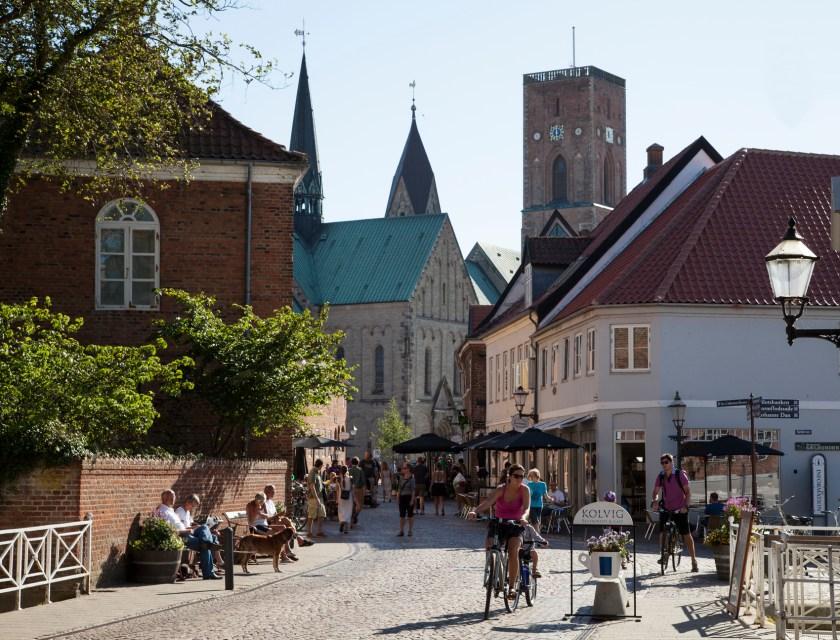 Dänemark, Nordsee: Die Altstadt von Ribe, Dänemarks älteste Stadt