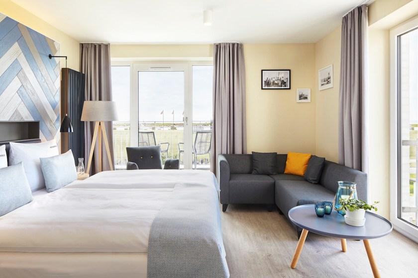 Familienzimmer im Hotel Küstenperle in Büsum
