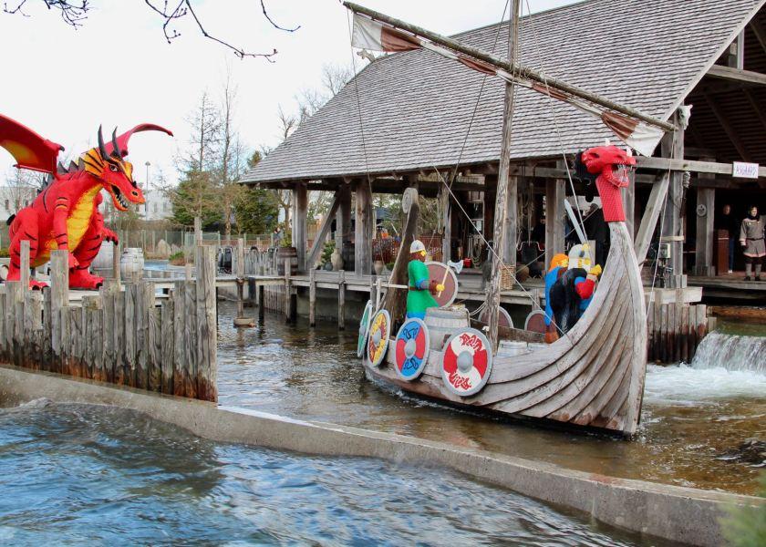 LEGOLAND Billund Resort zur Saisoneröffnung: Nicht immer schönes Wetter, aber keine Warteschlangen