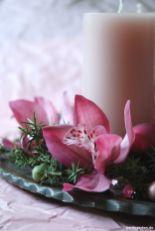 Adventsschmuck mit Orchidee