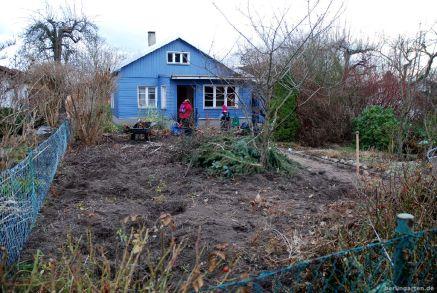 Blaues Haus, nachher