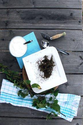 Brennesselsamen sind vielseitig einsetzbar. Wie wäre es als Pesto?