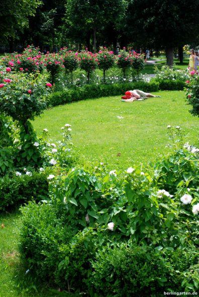Der Volkspark ist akzeptierter Entspannungsort