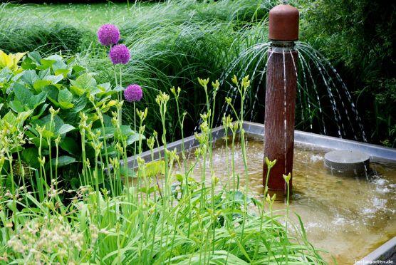 Ideen für Wasserspiele im Garten gibt es viele auf der IGA