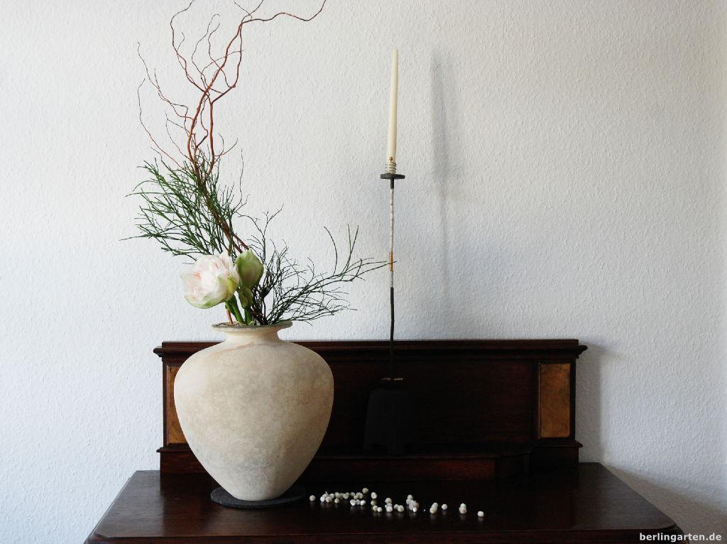 Ikebana schlicht und schön