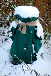 Leucantha im Schneeanzug