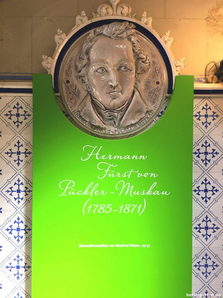 Medaillon Fürst Pückler