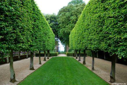 Ruhe strahlt der Stilt Garden aus