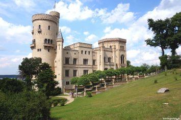 Schloss Babelsberg mit Voltaireterrasse