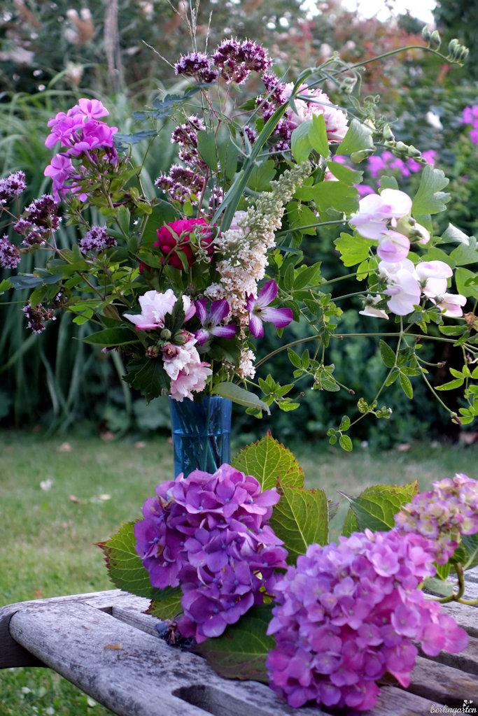 Ein Blumenstrauß im Juli
