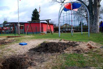 Vereinsheim und Spielplatz müssen weichen