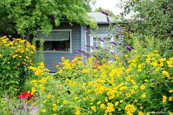 Leider plattgemacht: Garten in Oeynhausen