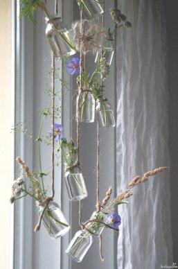 Storchschnabel, Gräser, Samenstände