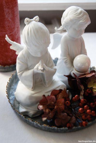 Zwei Engel zum Advent
