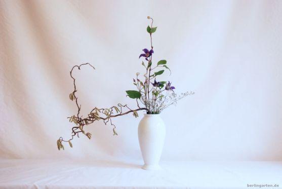 Mein Ikebana mit Clematis