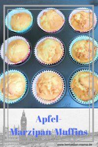 Einfaches und leckeres Apfel-Marzipan-Muffins Rezept