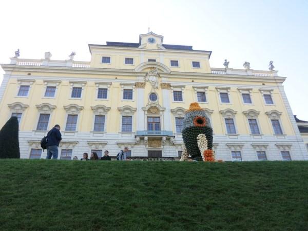 Schloss Ludwigsburg zur Kürbisaustellung