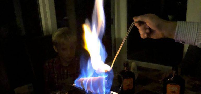 Feuerzangenbowle mit deutschen Freunden in London