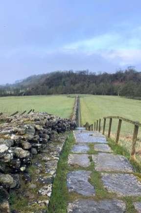 Wanderung in England
