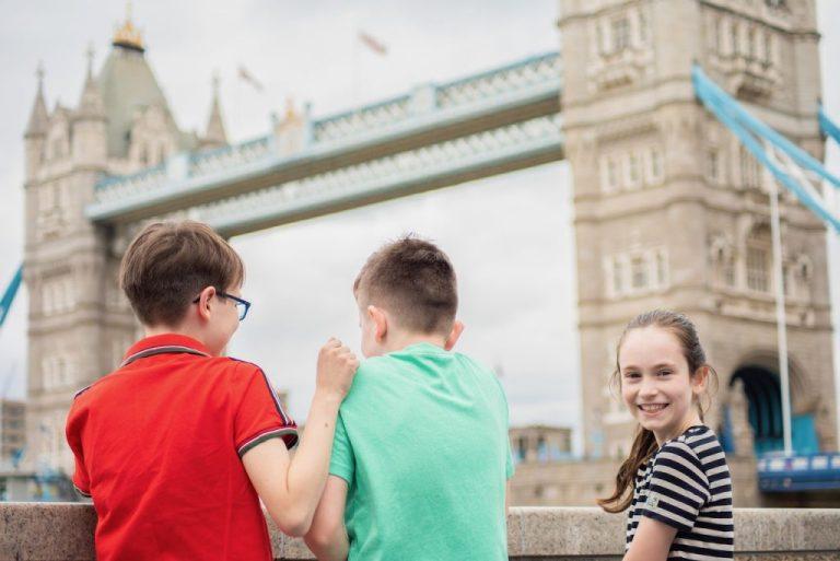 Tower Bridge als Sehenswürdtigkeit auf der deutschsprachigen Londontour für Kinder