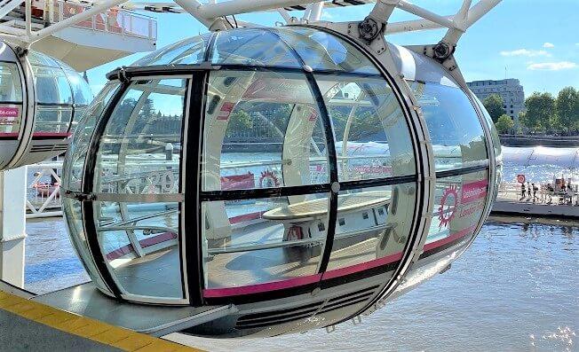 London Eye Gondel