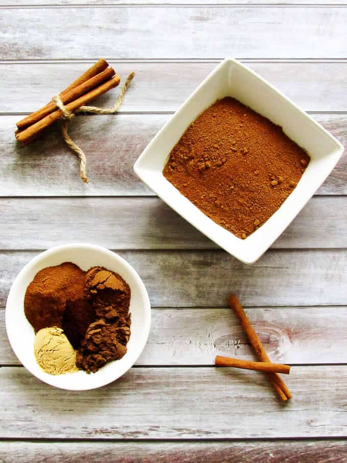 Pumpkin Pie Spice is an earthy spice combination of cinnamon, nutmeg, ginger, allspice, and cloves. Add it to breads, pies, and cookies for an instant flavor of autumn.