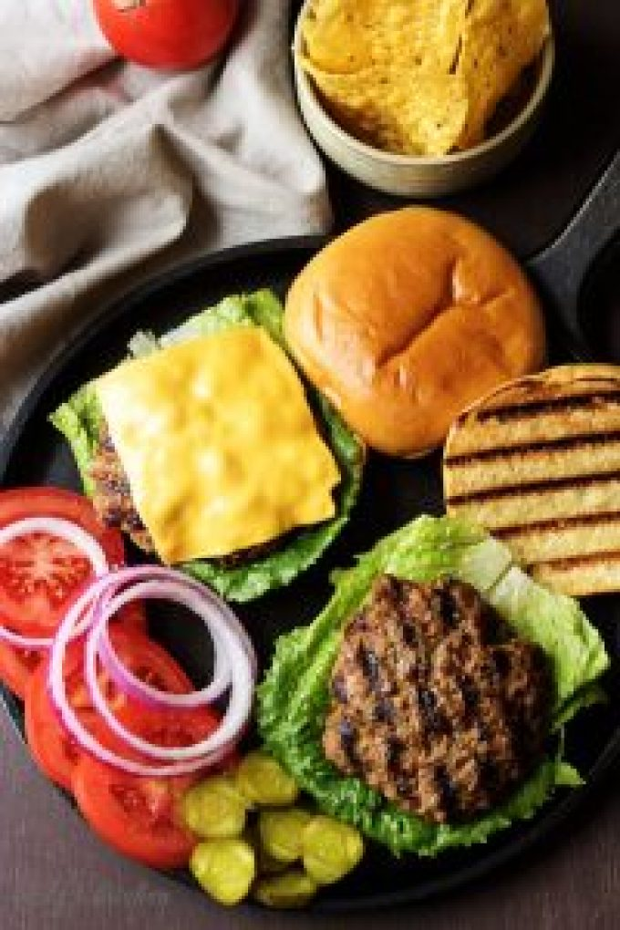 John's Onion Burgers are flavorful, juicy with pieces of caramelized onion in each bite.  It's the only homemade burger you'll want to make.