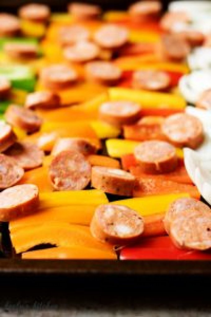 This time-saving sheet pan spicy sausage and peppers recipe is a fantastic idea for a quick, delicious, and filling weeknight meal.