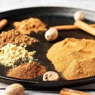 Homemade apple pie spice is a simple way to add a ton of flavor to pies, cobblers, and other desserts. It's fragrant, versatile, and easy to make.