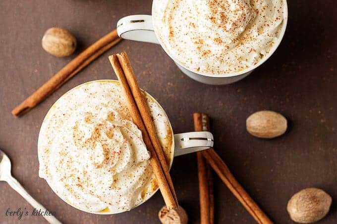 Our pumpkin spice latte creamer has all the seasonal flavors of your favorite coffee shop latte in the convenience of your own home.