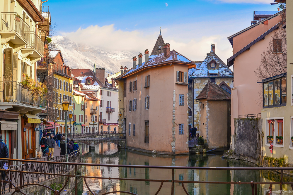 A winter's day in Annecy, France