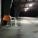 empty farmer's market