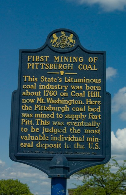 The First Mining of Pittsburgh Coal.