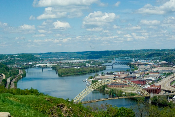 The Ohio River.