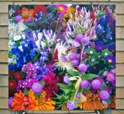 canvas print of flowers