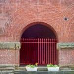 brickwork church facade