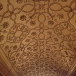 decorative vaulted ceiling