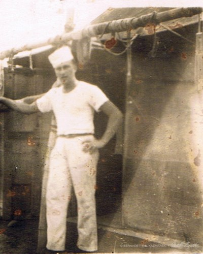 My father in his uniform.