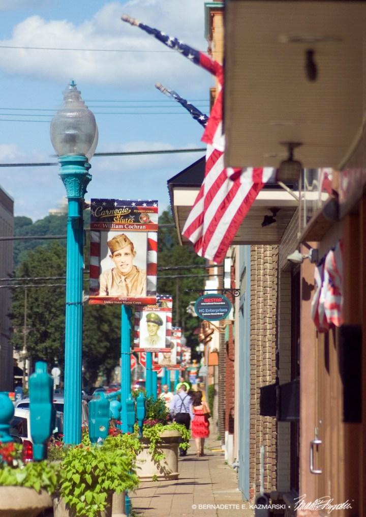 Main Street Saturday Afternoon