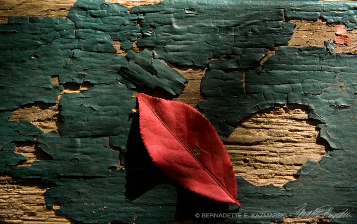 Composition in Red and Green