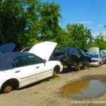 Going nowhere at the junk yard.