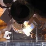 jewelry case in gallery